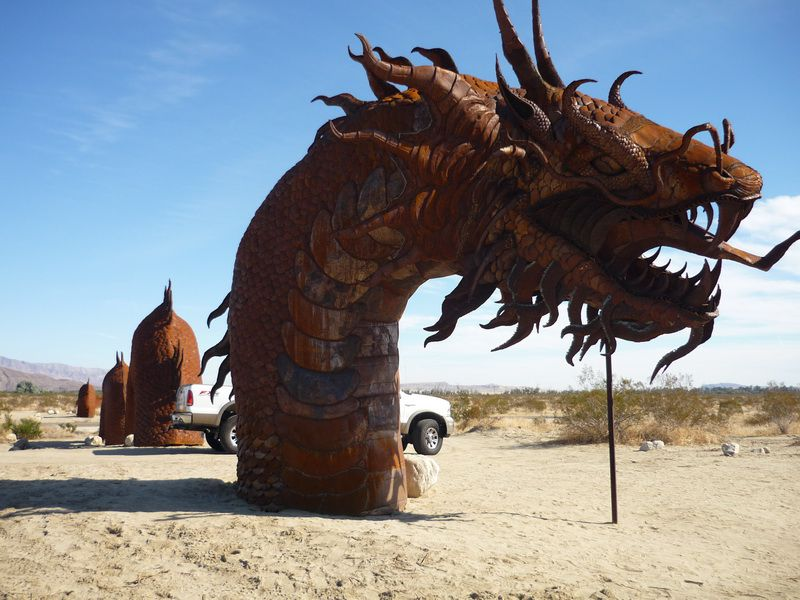 Borrego Springs Sculptures