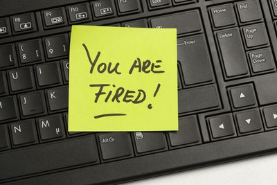 how to get a job when you have been fired