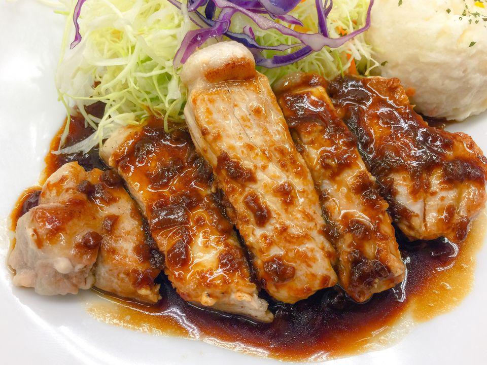 Pork Chop Set Meal (Pork Steak)