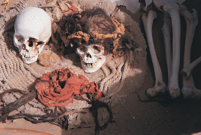 Archaeology is an example of a scary job