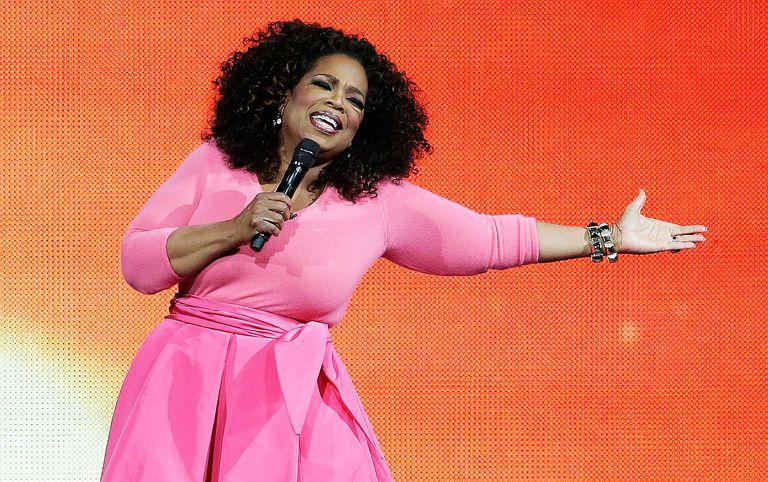 Talk show host Oprah Winfrey