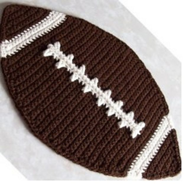 10 Free Crochet Football Patterns
