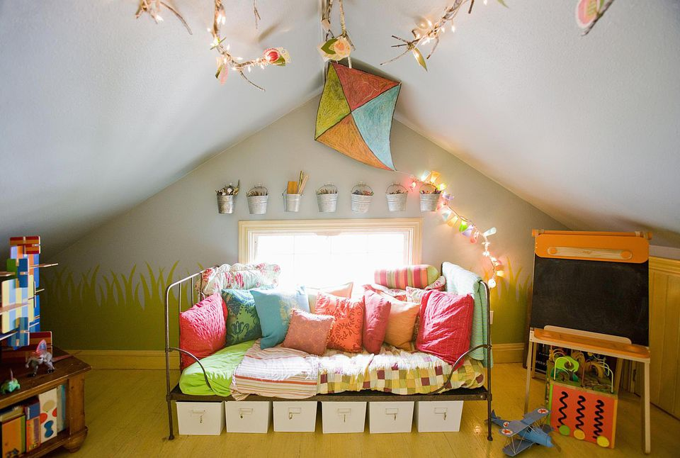 Playroom decoration ideas for Cool kids rooms decorating ideas