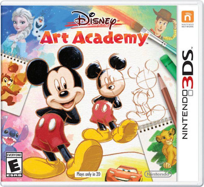 Disney Art Academy Game for Nintendo 3DS