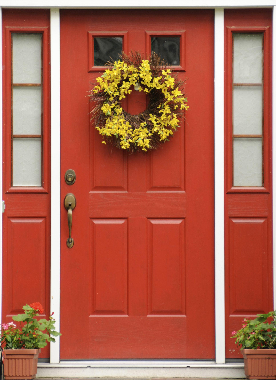 Red Front Door 100 Red Barn Door Red Barn With Cow