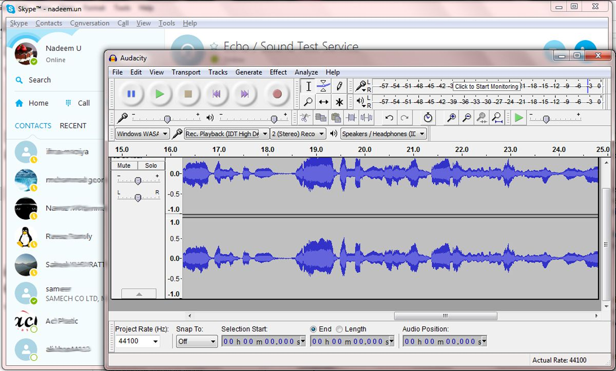 can i record a conversation on my iphone using audacity to record phone calls 20647