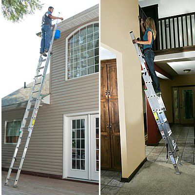 How to choose and use the right ladder for for safe work for House doctor ladder
