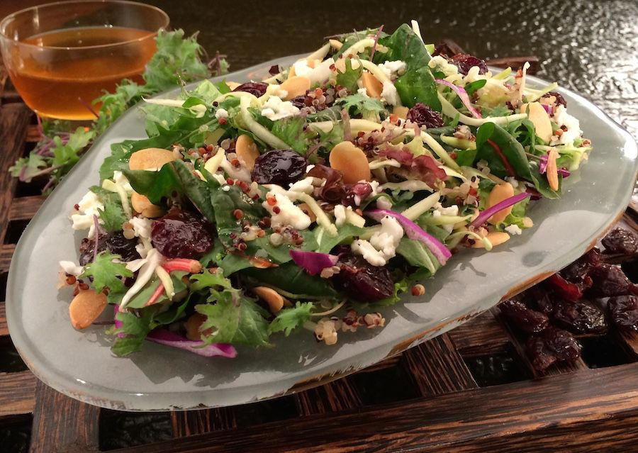 Power Salad served at Epcot's Sunshine Seasons food court.