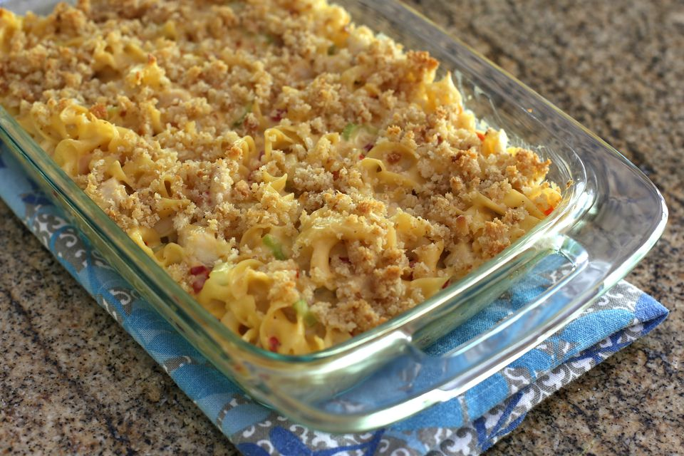 Turkey and Noodle Casserole