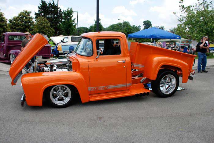 Pictures Of 1953 1956 Ford F 100 Pickup Trucks