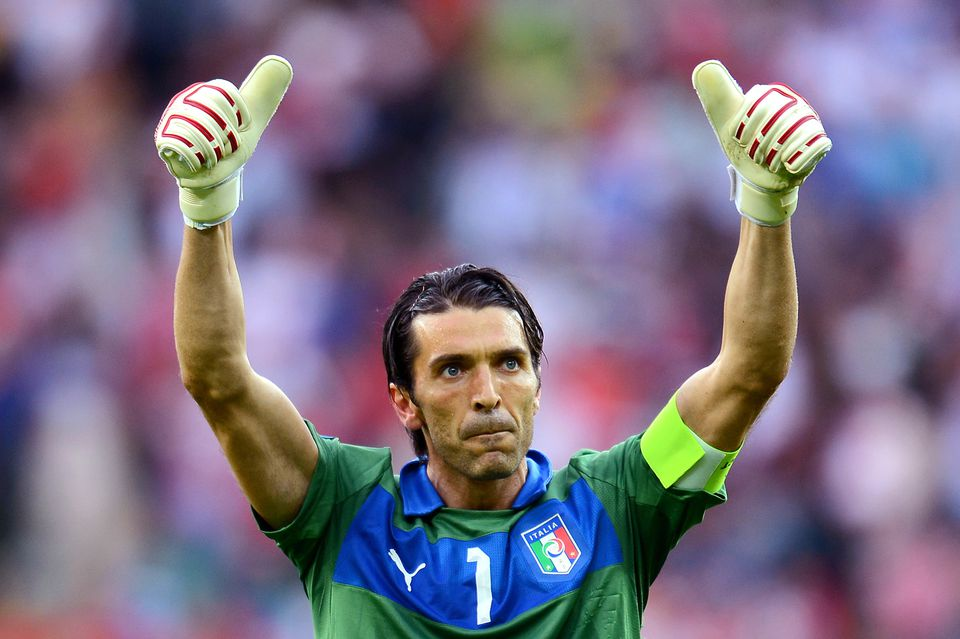 Gianluigi Buffon of Italy