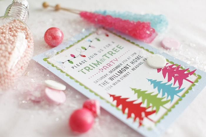 10 Ideas for a Tree Trimming Party – Tree Trimming Party Invitation