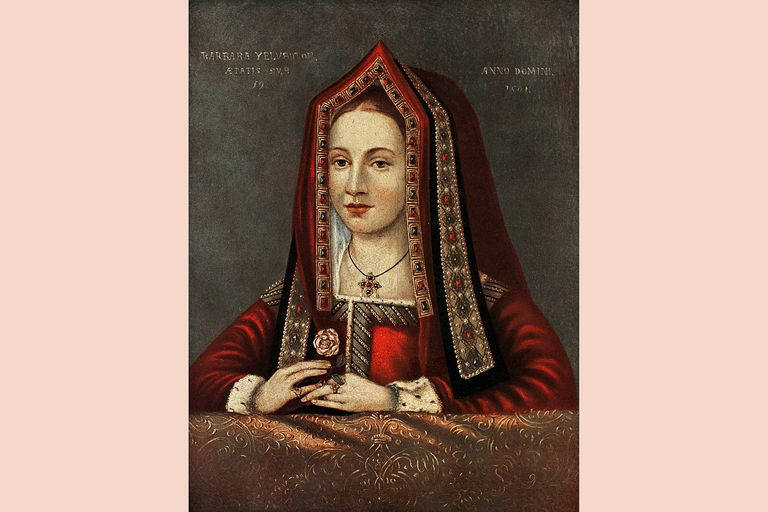 Elizabeth of York, 1501