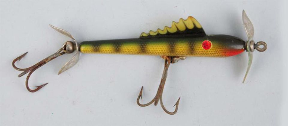 Values for old fishing lures for School of fish lure