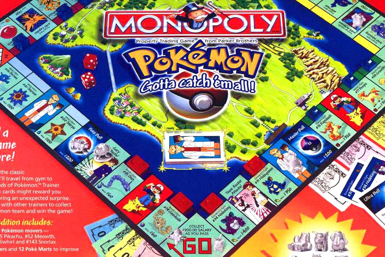 Pokemon Collectors Edition 1995 Monopoly Board Game