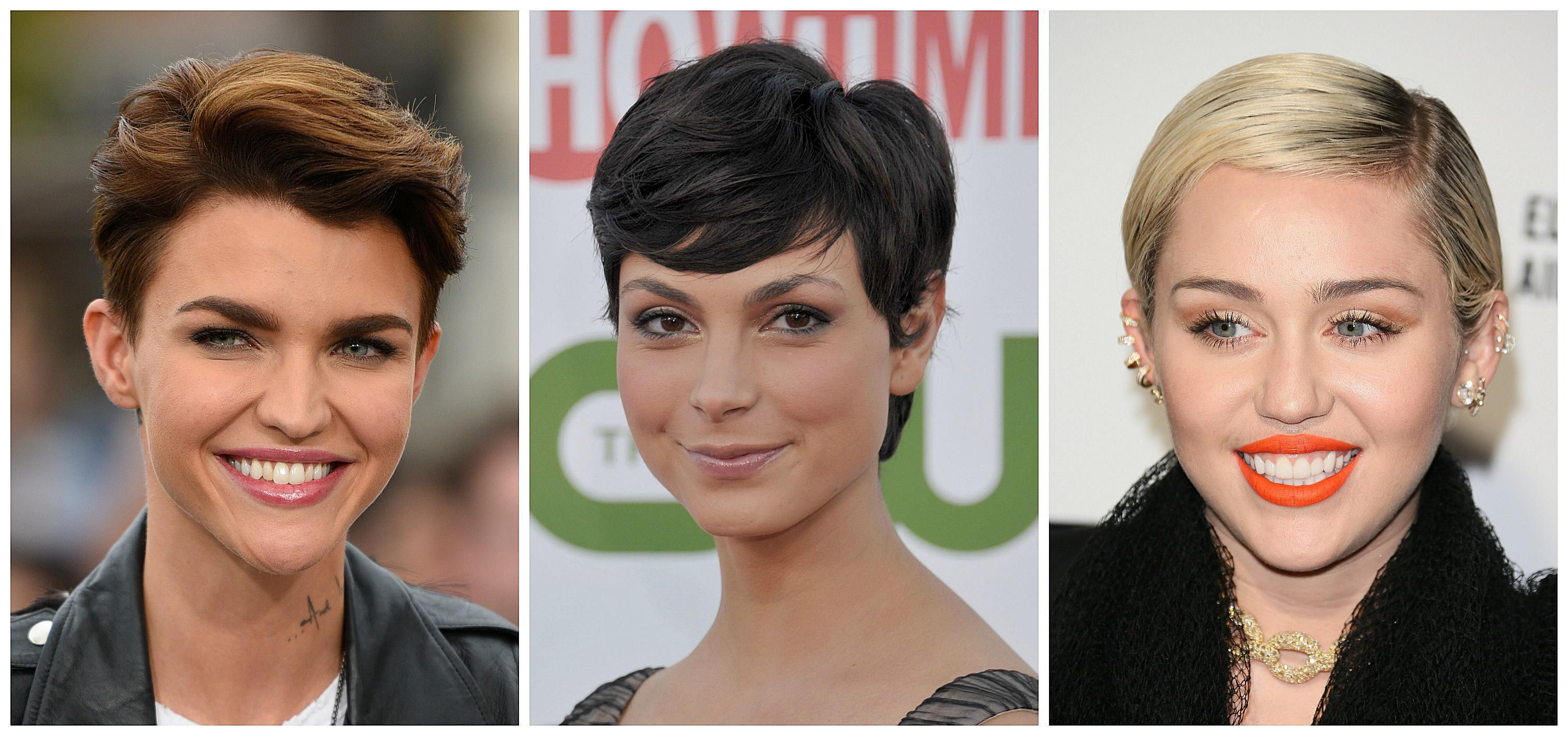 Short edgy hairstyles for women