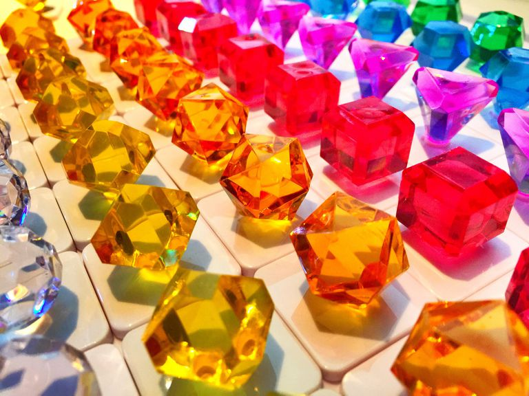 Analog bejeweled