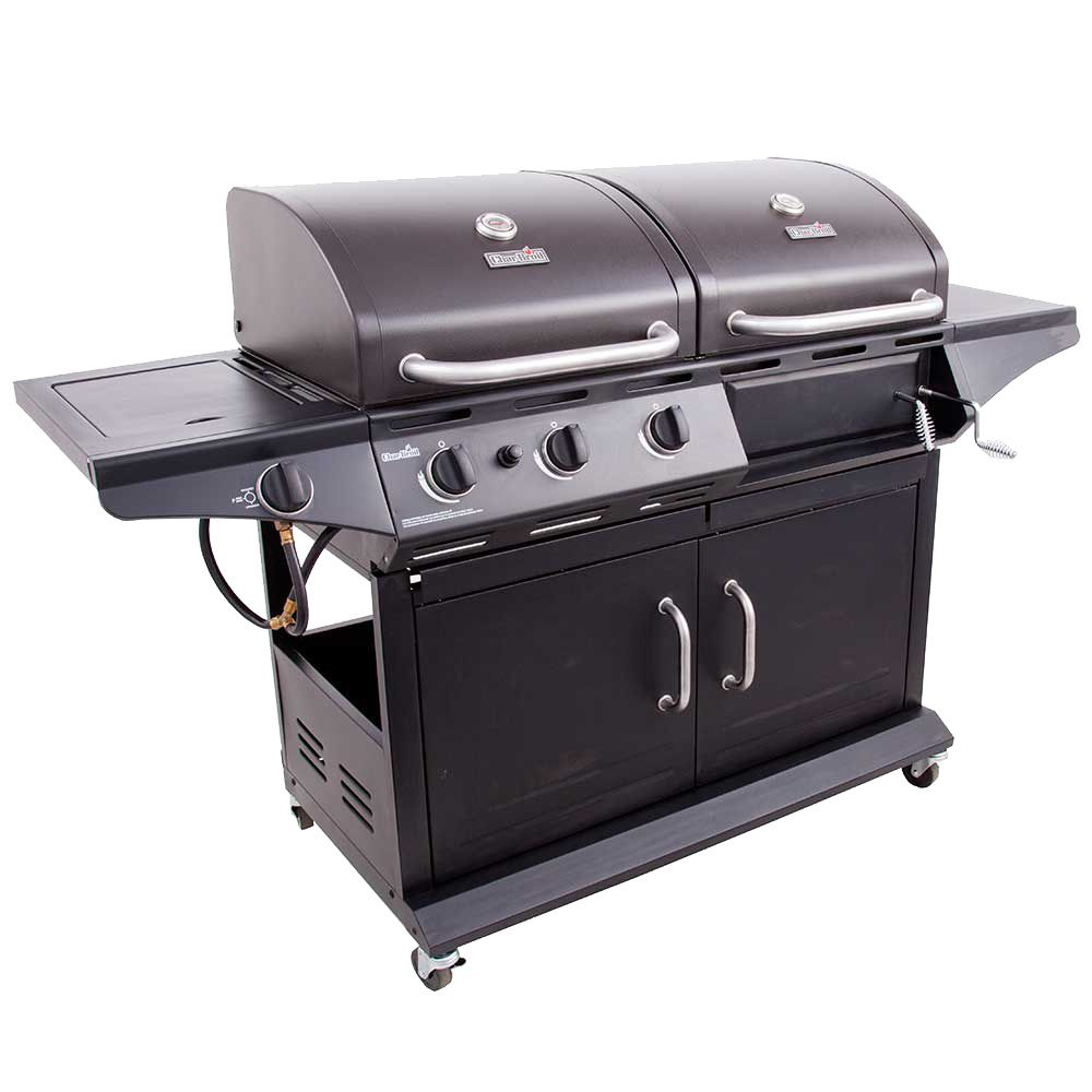 charcoal gas grill char broil combination gas charcoal grill review 30925