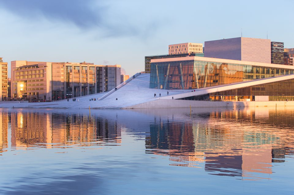 The Oslo Opera House.