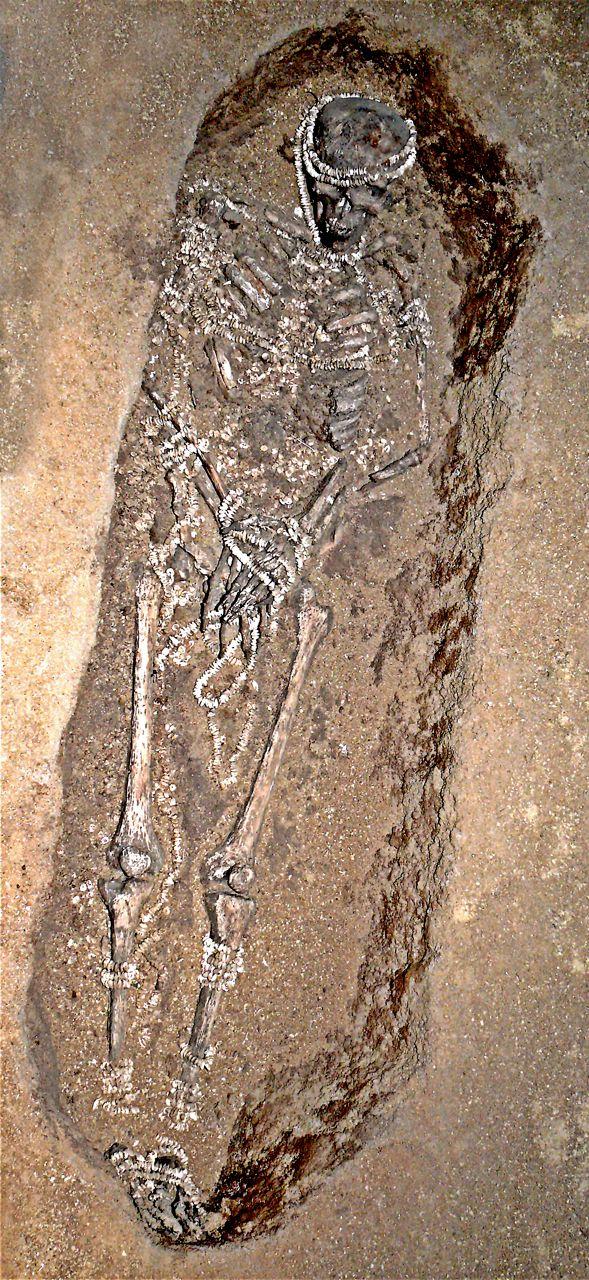 Sunghir 1 Burial
