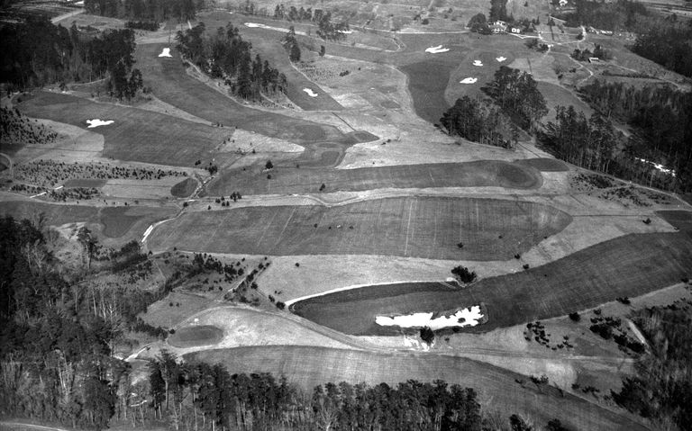 who was course designer for augusta national golf club