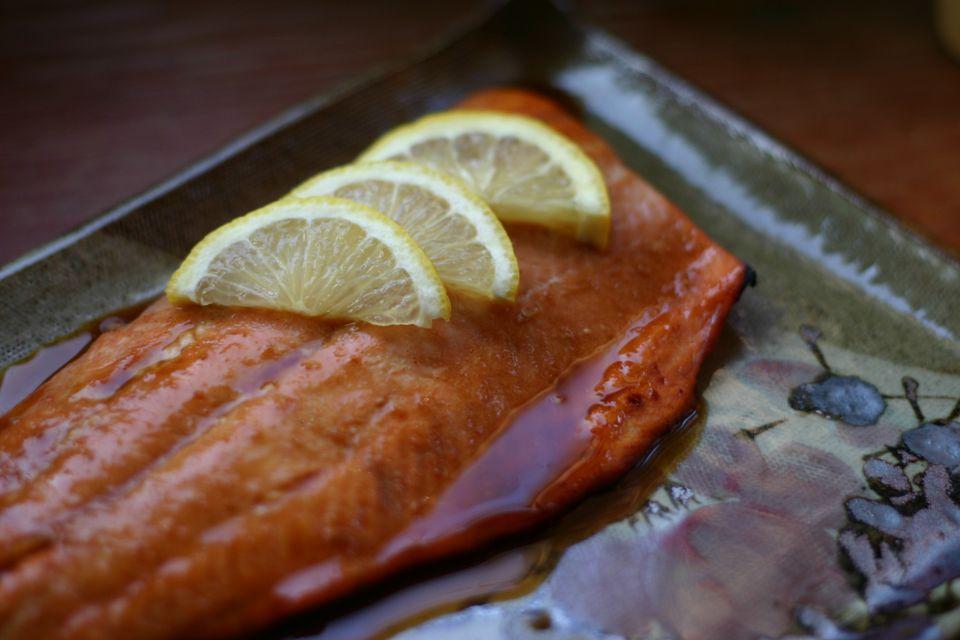 Soy Honey Glazed Salmon