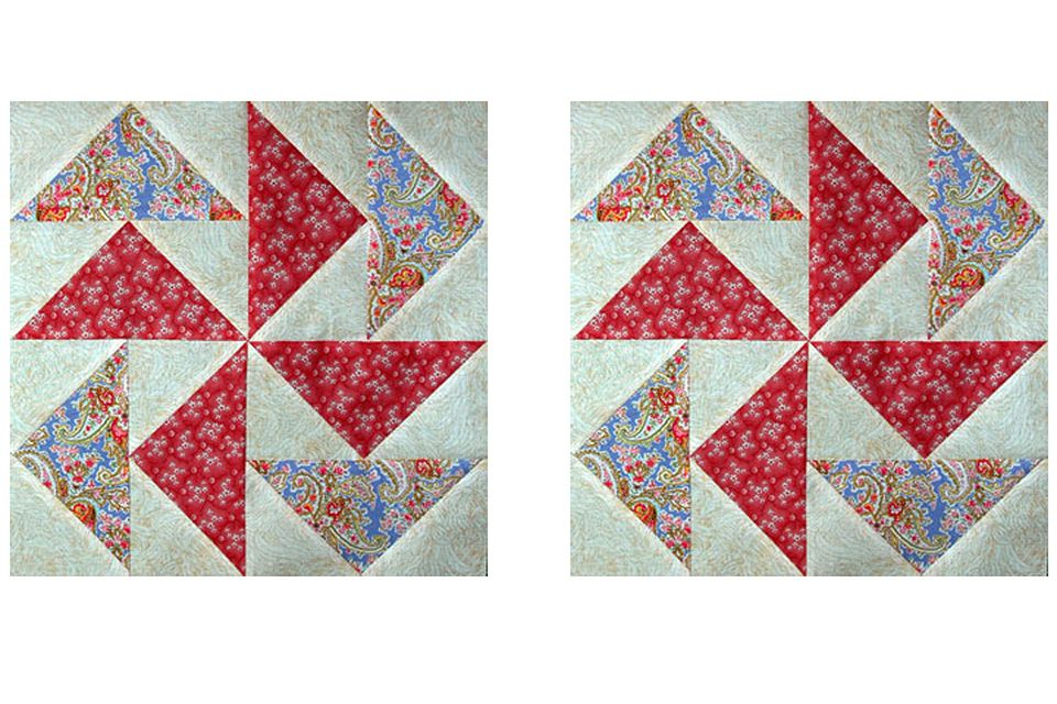 How to Make No-Waste Flying Geese for Quilts : flying geese quilting - Adamdwight.com