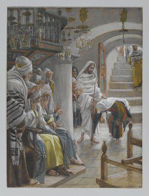 Jesus miracle healing crippled woman
