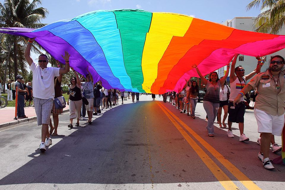 First Annual Miami Beach Gay Pride Event