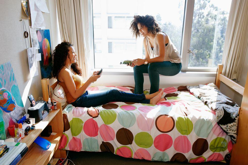 Dorm Life Two Girls