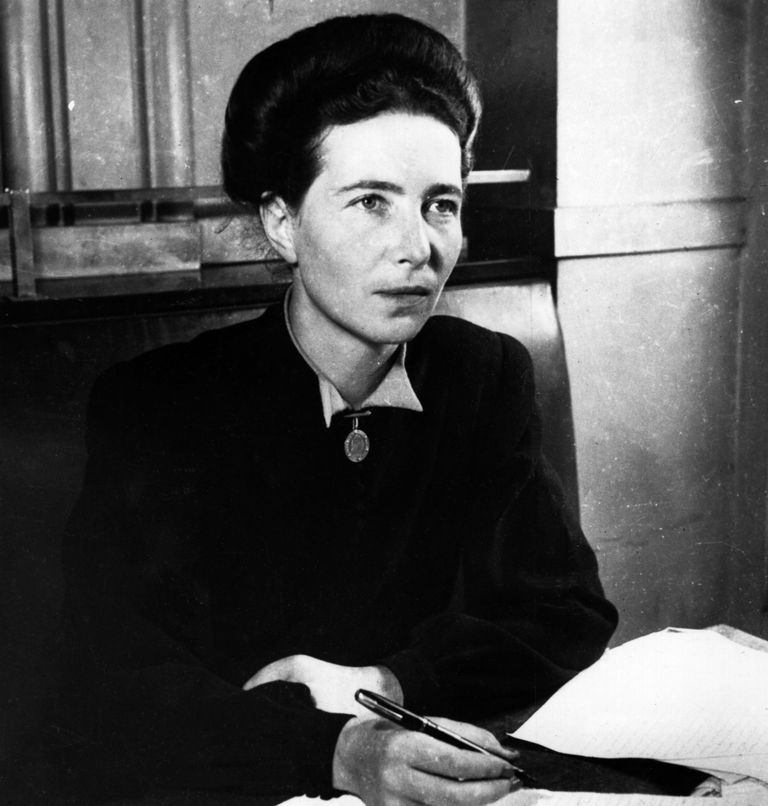 Simone de Beauvoir 1947