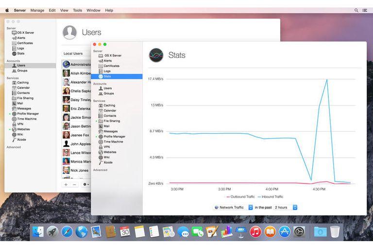 OS X Server (OS X Yosemite)
