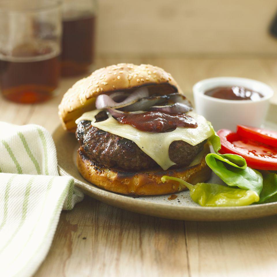 Grass fed beefburger