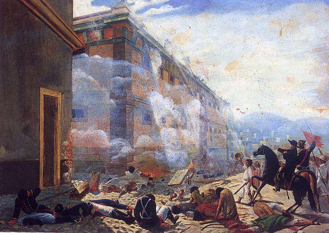The Siege of Guanajuato