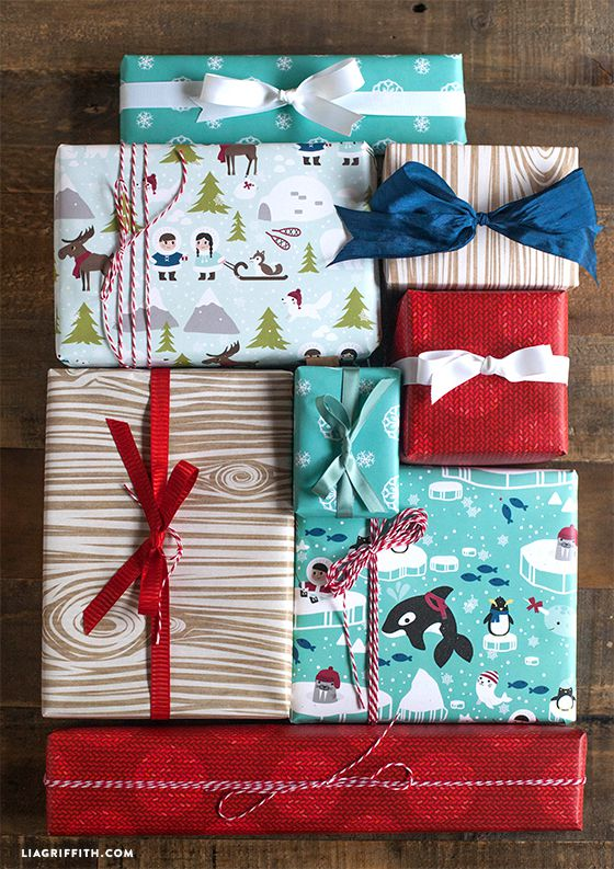 Wrap it up diy gift tags and wrapping paper for Themed printer paper