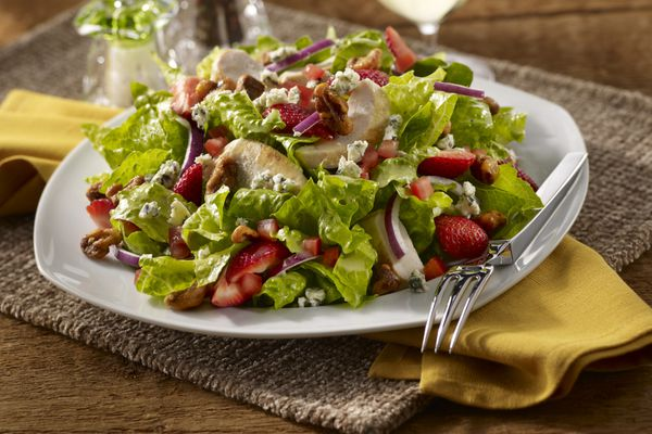 strawberry chicken salad