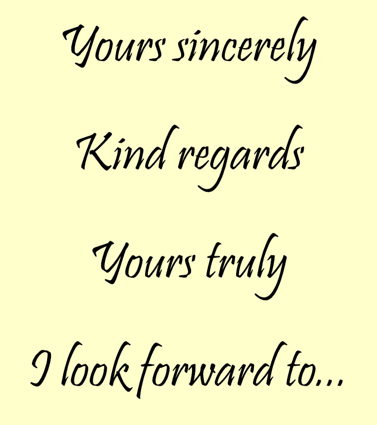 cartas de negocio