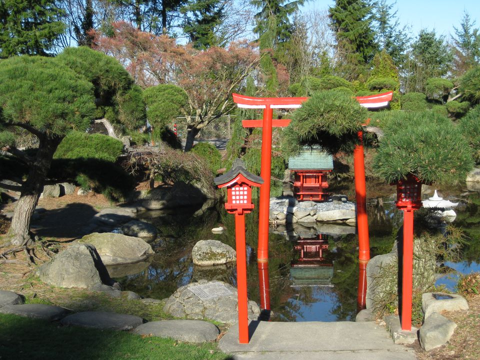 Point Defiance Park Japanese Garden