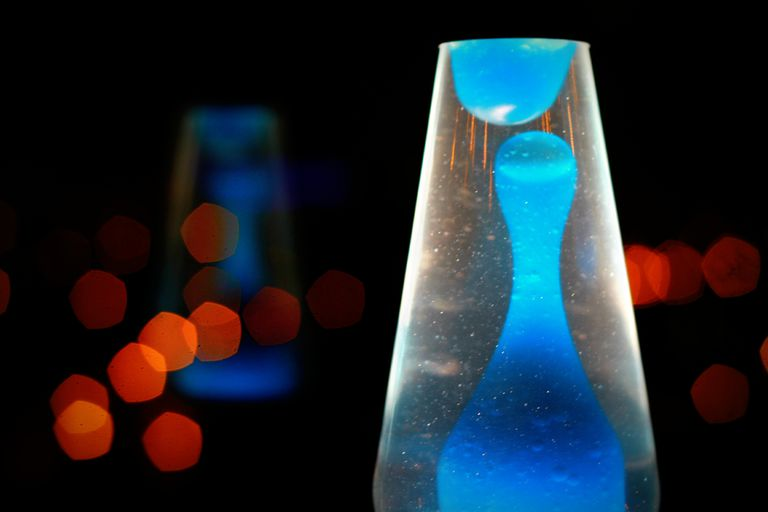 A lava lamp is a terrific advanced chemistry project!