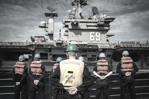 Members of the US Navy