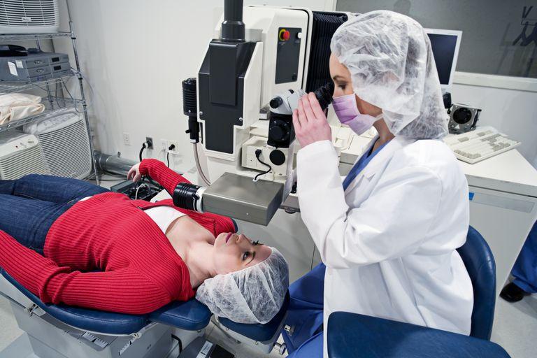 Preparing for LASIK eye surgery