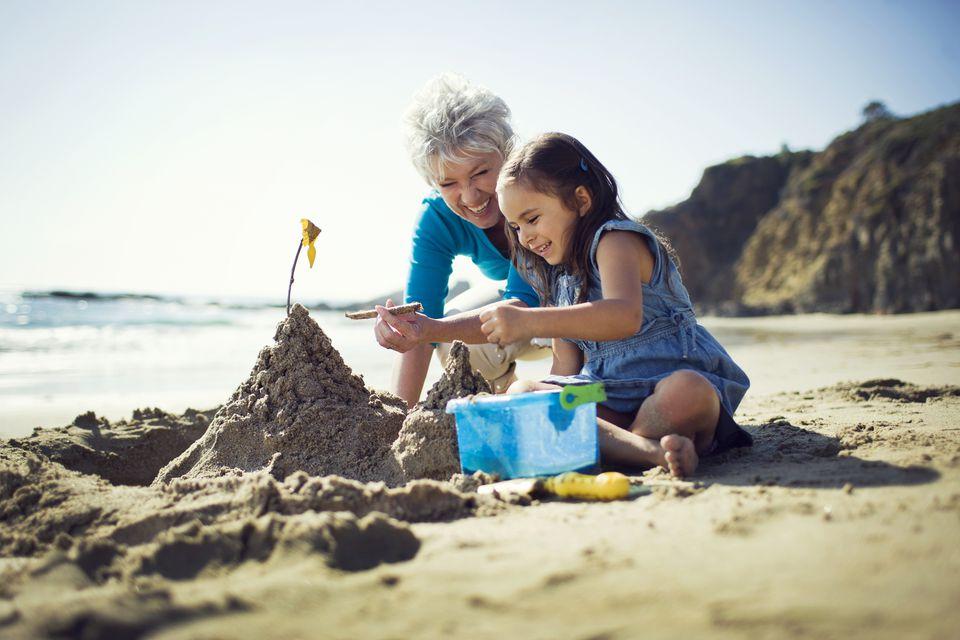 Vacation with grandchildren