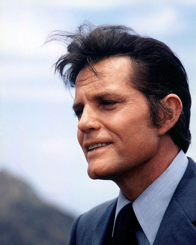 Headshot of Jack Lord (1920-1998)