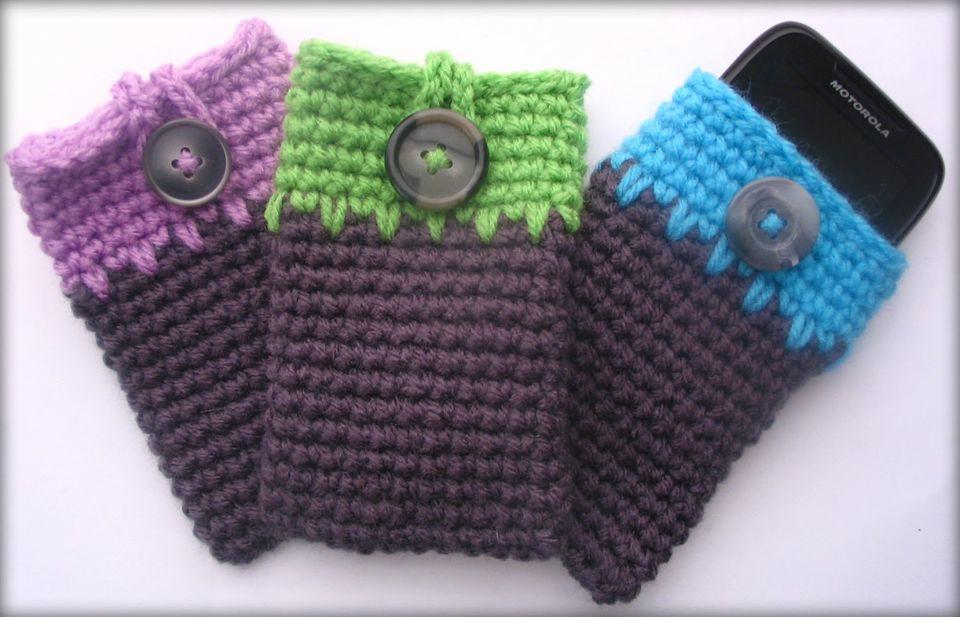 Crochet Phone Cozy Free Pattern