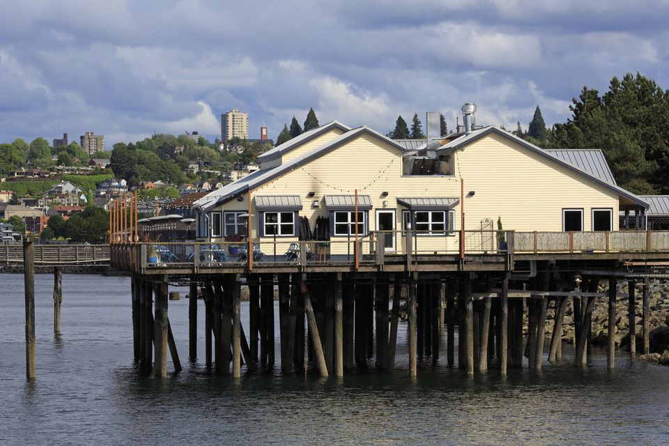 Waterfront restaurant in Tacoma