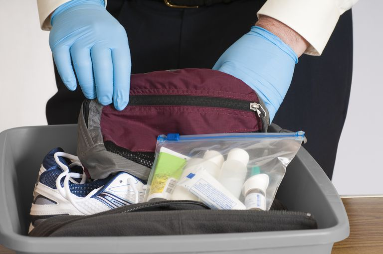 Learn which products might cause a false positive TSA swab test.