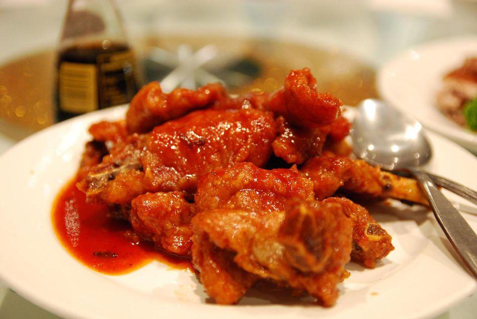 Pork With Peking Sauce