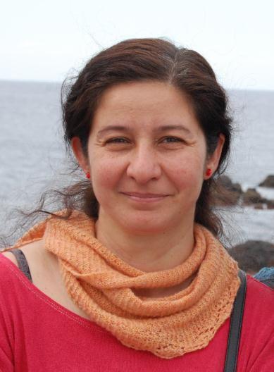 Foto de Pilar R. Méndez, experta en Tejer de About.com en Español