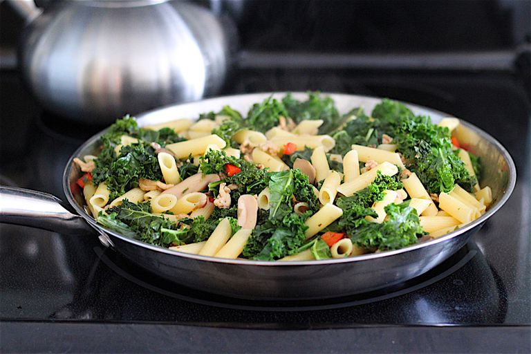 Sausage and Kale Pasta Dinner