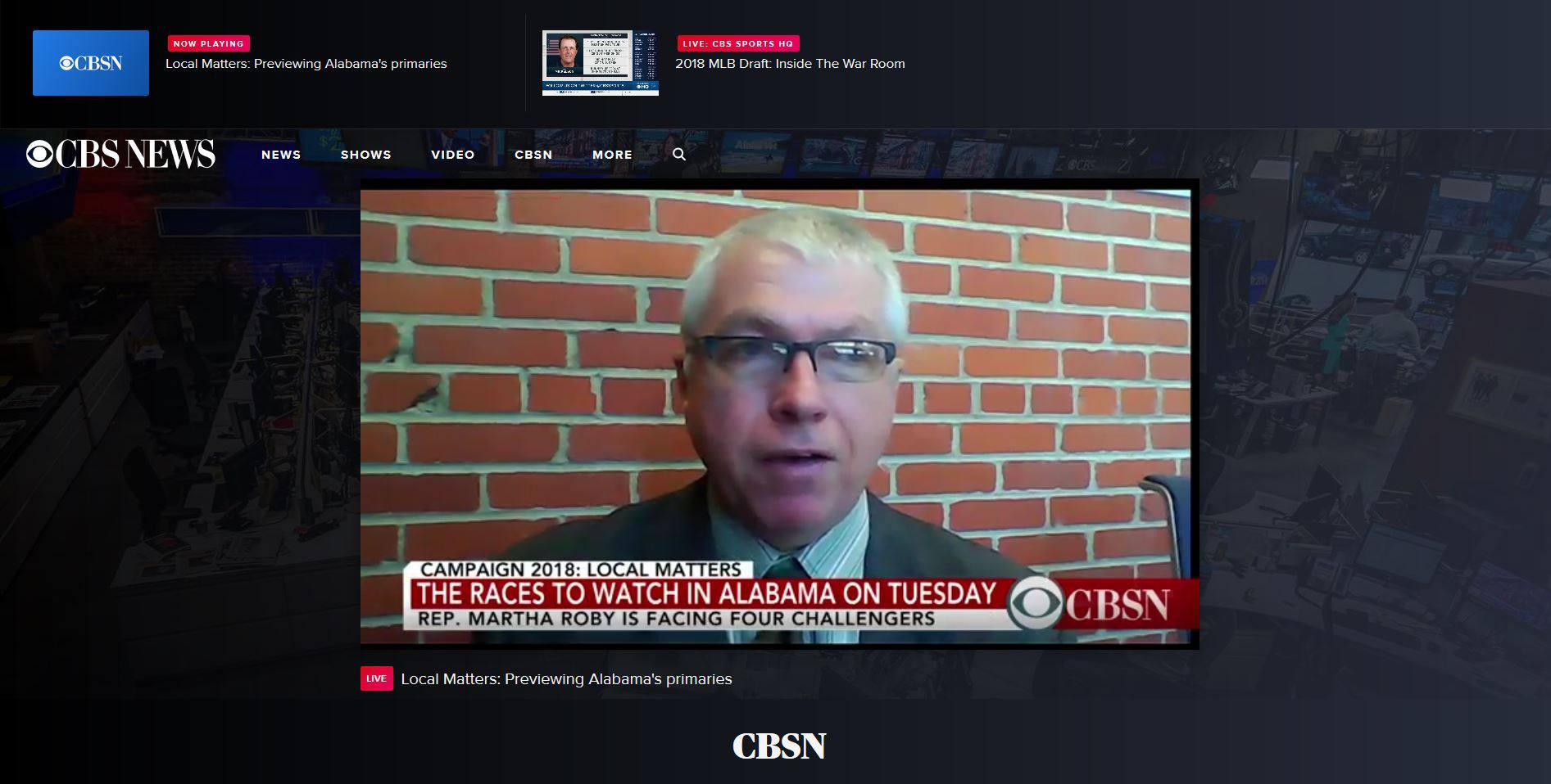 how to watch cbsn live news stream online